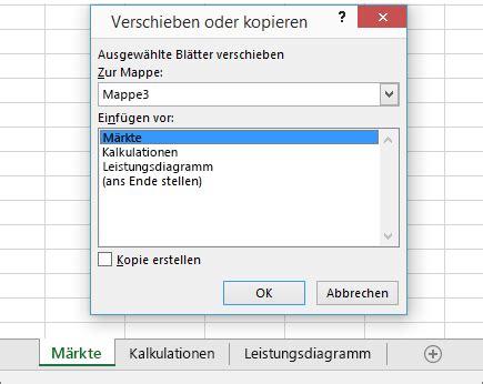 format excel kopieren verschieben oder kopieren von arbeitsbl 228 ttern oder