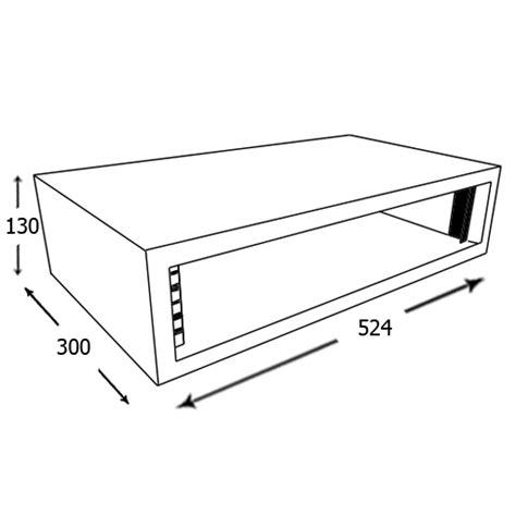 smp2 desk top 19 inch 2u rack pod
