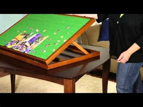 jigsaw puzzle table top puzzleboard jigsaw puzzle storage made easy