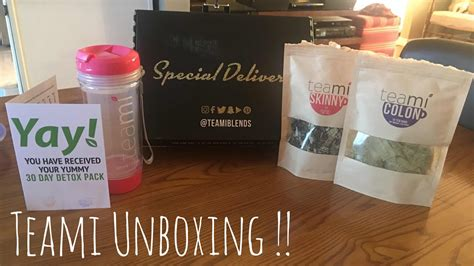Teami 30 Day Detox Coupon by Unboxing Teami 30 Day Detox Coupon Code