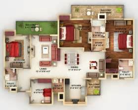 4 Bedroom Cabin Plans by 4 Bedroom Apartment House Plans