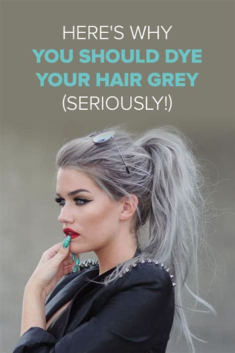 hot hues hairstyles 134 best cool grey hair images on pinterest