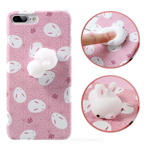 Casing Iphone 7 Plus Squishy Rabbit Panda Soft Silicone bakeey 3d squishy squeeze rising soft rabbit pc for iphone 7 7plus alex nld