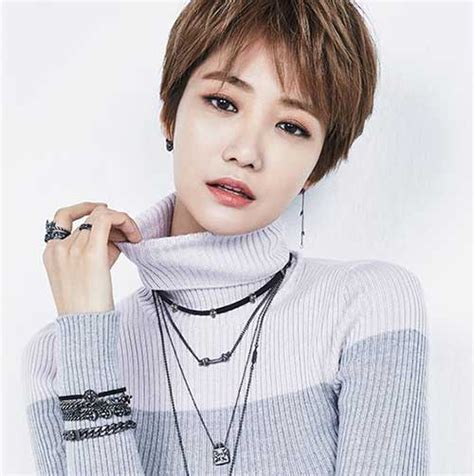 Korean Pixie Haircut | most lovely asian pixie cut pics short hairstyles 2017
