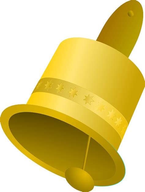 Ring Lonceng free vector graphic bell ringing yellow