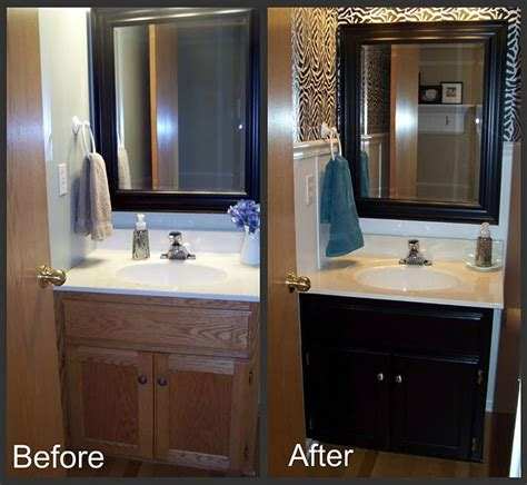 bathroom updates before and after how to make a small bathroom look bigger before and after