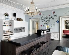 Kitchen Design Trends kitchen design latest trends 2016 black island in the classic light