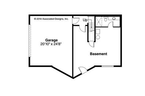 a frame house plans with basement a frame house plans eagle rock 30 919 associated designs