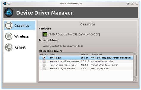 tutorial linux device driver linux mint driver manager and device driver manager