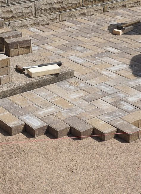 best patio pavers best 20 brick pavers ideas on