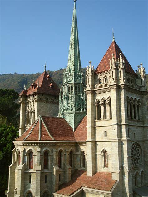 Lovely Nearby Catholic Churches #4: Maquette_de_la_cathédrale_St_Pierre_de_Genève_à_Swiss_Miniatur_(Melide)_07.jpg