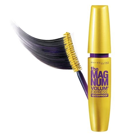 Mascara Maybelline Magnum Waterproof maybelline mascara magnum volum express waterproof 9 2 ml