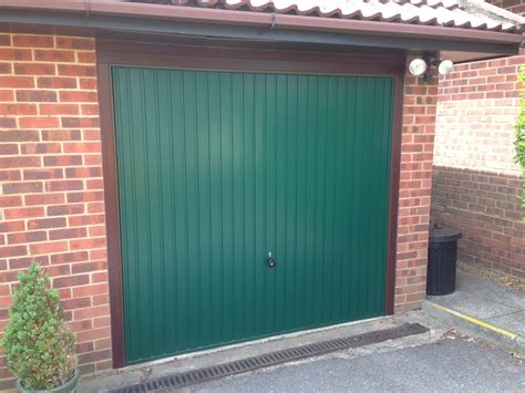 Green Garage Doors In The Nick Of Time South East Garage Doors Repairs Replacement Services To East Sussex