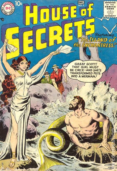 the house of secrets book house of secrets 1956 1st series comic books