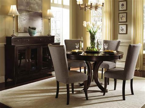 Dining Room Ideas 2013 by Round Dining Room Sets Design Ideas With Wooden Cabinet