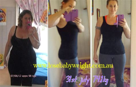 weight loss 60 kg to 50kg eleanor loses 24 kg on the lose baby weight plans