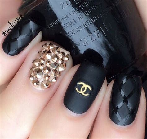 Nail Channel best 25 chanel nail ideas on chanel nails