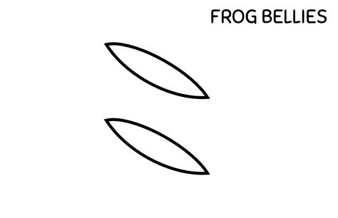 printable frog eyes amphibian abstracts frog paper craft