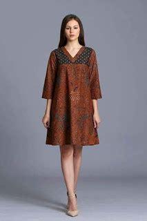 Atasan Dress Batik Outer Batik 50 model baju batik terbaru 2018 modern elegan