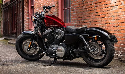 by brock cardiner harley forty eight custom motorcycle by rough crafts harley davidson forty eight price mileage review