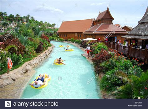 theme park tenerife mai thai river ride siam park water kingdom theme park