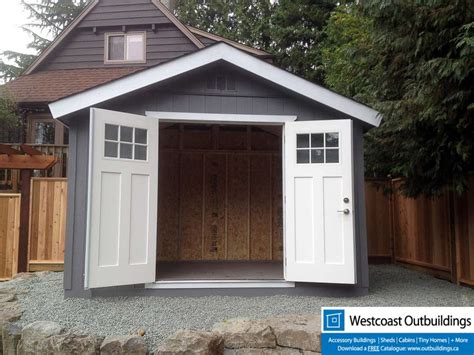 craftsman garden shed westcoast outbuildings
