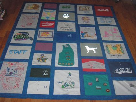 Interfacing For T Shirt Quilt by A Quilt Out Of T Shirts How To Make A Shirt