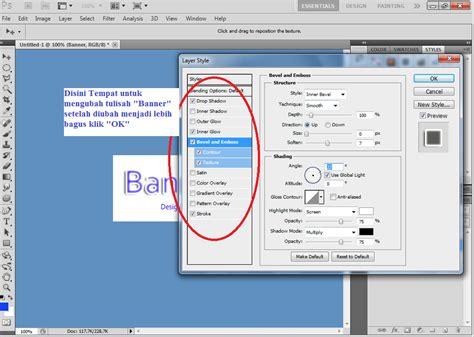 kumpulan tutorial cara membuat banner dengan photoshop tutorial membuat banner dengan photoshop teknik komputer
