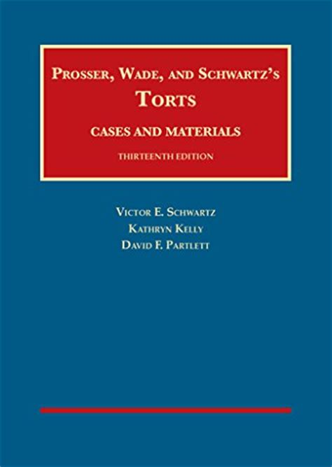Pdf Torts Cases Materials Casebook by 1609304071 Torts Cases And Materials