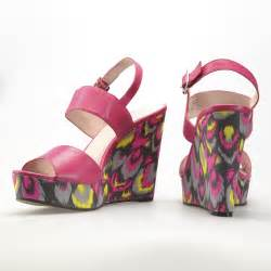 colorful wedge sandals vince camuto norma magenta colorful wedge sandals