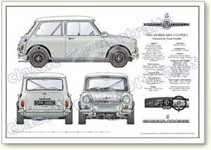 Mini Cooper Size 1940s Illustration Which Promised A New Era In Automotive
