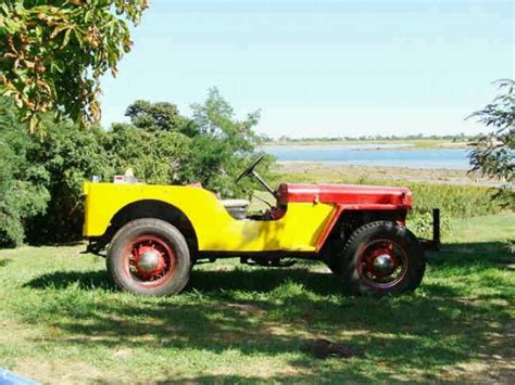 46 Willys Jeep Dads 46 Cj2a Quot Buttercup Quot Willys Jeep