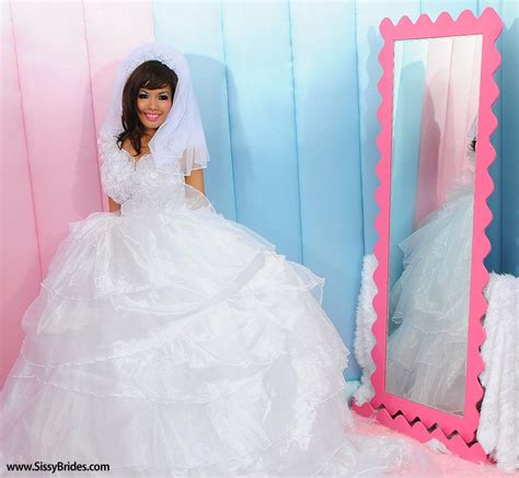 sissy marriage a sissy wedding dress cute sissy dresses pinterest