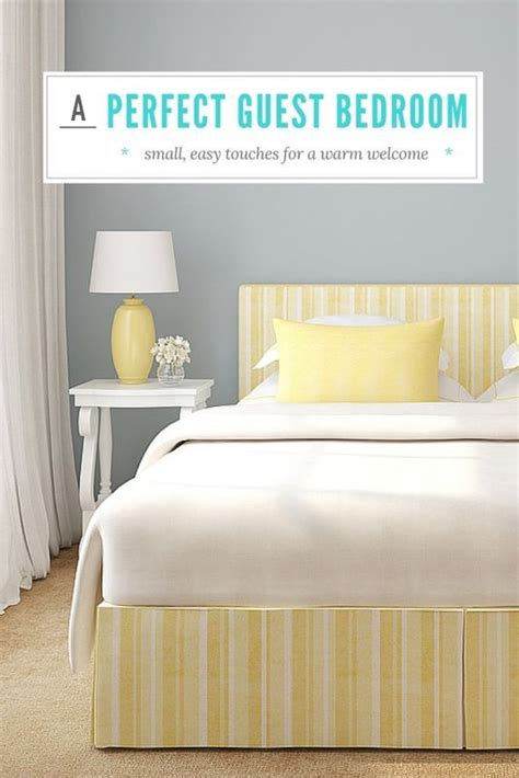 the perfect guest room how to create a perfect guest room for holiday guests