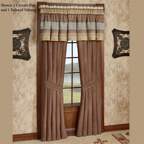 Southwest Kitchen Curtains Montaneros Southwest Window Treatment By J New York