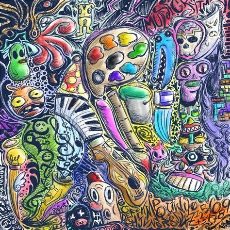 Colorful Doodle Keren doodle colored by onizuka09 on deviantart