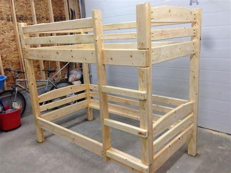bunk bed plans  diy plans image  cheap