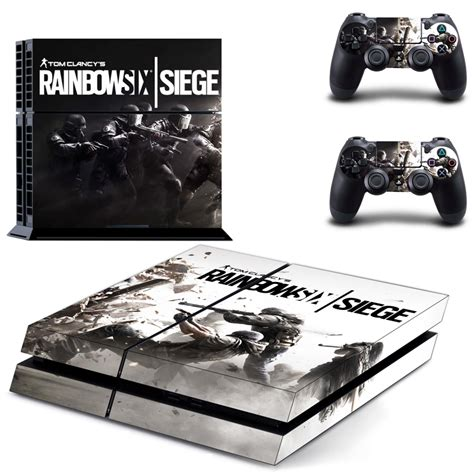 siege ps4 fashion rainbow six siege cover skin sticker for ps4