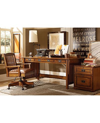 Home Office Furniture Collection Sedona Home Office Furniture Collection Created For Macy S Furniture Macy S
