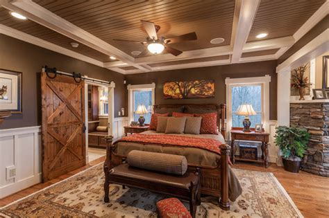 mountain high residence rustic bedroom other by trimble studios