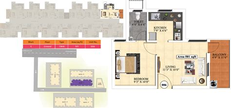 ideal homes floor plans 501 sq ft 1 bhk 1t apartment for sale in vijay raja ideal