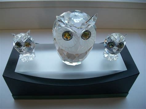 Mini Owl 2 swarovski large owl mini owl 2 display catawiki