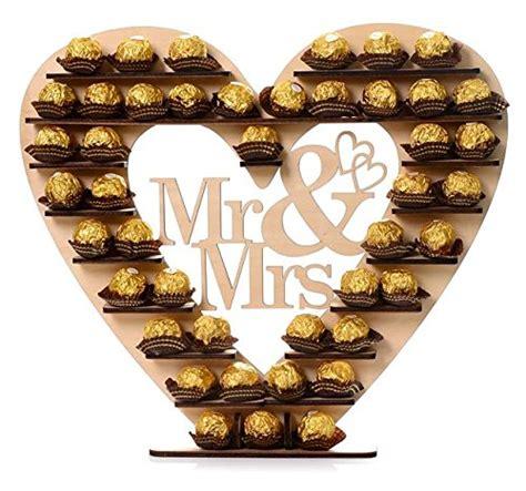 Dekoration Shop Hochzeit by Asvp Shop Quot Mr Mrs Quot Ferrero Rocher Tischdekoration Zur