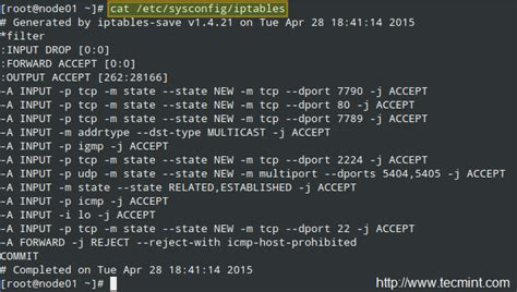 iptables block rhcsa series firewall essentials and network traffic
