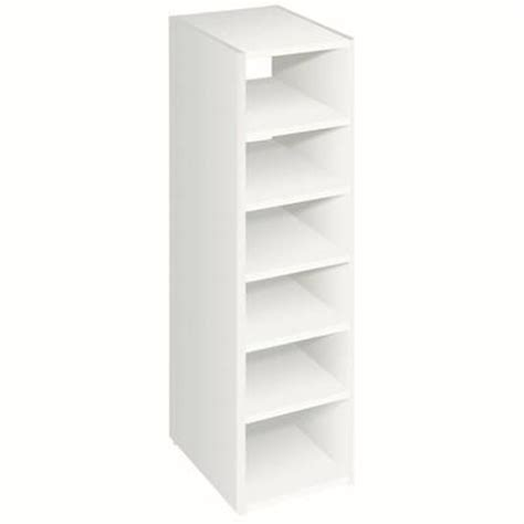 closetmaid t5 selectives 7 shelf organizer 714000