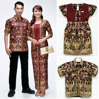 Baju Batik Untuk Keluarga 12 koleksi baju batik seragam keluarga model terbaru 2018