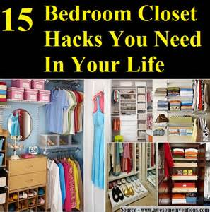 Diy Organization Bedroom 15 Bedroom Closet Hacks You Need In Your Life Home And