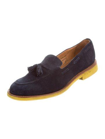 mcnairy loafers mcnairy new amsterdam tassel suede loafers shoes