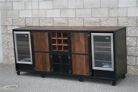 liquor cabinet with wine fridge combine 9 industrial furniture refrigerator liquor