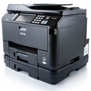 Small Fast Desktop Printer Epson Workforce Pro Wp 4540 Review Fast High Capacity